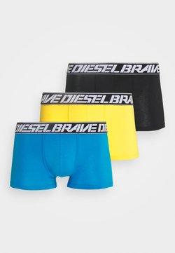 Diesel - DAMIEN 3 PACK - Shorty - yellow/blue/black