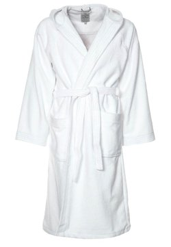 TOM TAILOR - BASIC VELOURS - Dressing gown - weiß