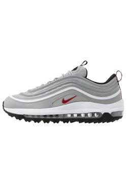 Nike Golf - AIR MAX 97  - Golfschuh - metallic silver/university red/white