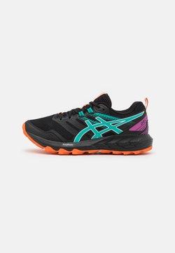 ASICS - GEL SONOMA 6 - Trail running shoes - black/baltic jewel