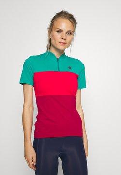 Triple2 - OCEAN WASTE ECONYL WOMEN - T-Shirt print - hibiscus