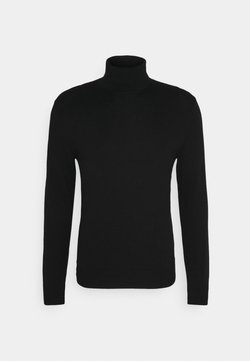 Abercrombie & Fitch - TURTLENECK - Pullover - black