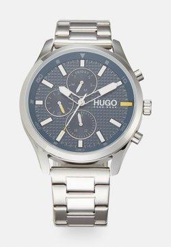 HUGO - CHASE - Montre - silver-coloured
