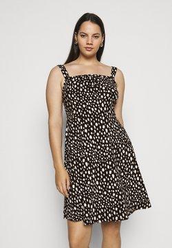 Dorothy Perkins Curve - CURVE STRAPPY DRESS - Jerseykleid - black