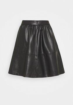 Vila - VICHOOSY - A-line skirt - black