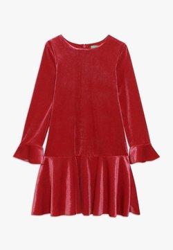 Benetton - DRESS - Cocktailkleid/festliches Kleid - red