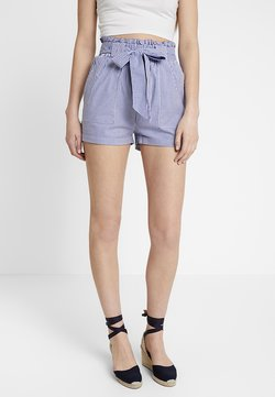 ONLY - ONLSMILLA BELT - Shorts - medium blue denim