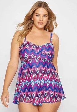 Yours Clothing - Bikini-Top - purple