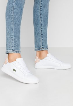 Lacoste - GRADUATE  - Baskets basses - white/natural