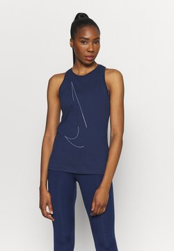 Nike Performance - DRY TANK  YOGA - Camiseta de deporte - midnight navy