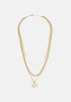 Pieces - PCKETH COMBI NECKLACE  - Necklace - gold coloured