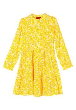 s.Oliver - Blusenkleid - yellow floral aop