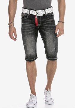 Cipo & Baxx - Jeans Shorts - black