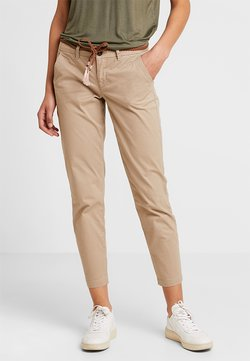 ONLY - ONLEVELYN ANKLE PANT  - Chinot - silver mink