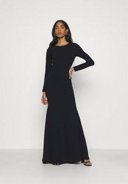 Missguided - OPEN BACK FISHTAIL BRIDESMAID DRESS - Vestido largo - navy
