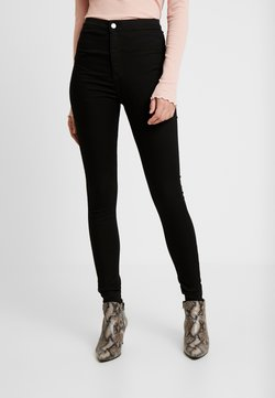 Topshop Tall - PURE JONI CLEAN - Jeans Skinny Fit - pure black