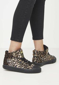 British Knights - DEE - Sneaker high - rust leopard/gold/black