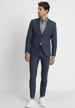 Selected Homme - SLHONE-MYLOAIR CHECK SUIT - Anzug - dark blue