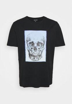Jack & Jones - JORGRADSKULL TEE CREW NECK - T-shirt imprimé - tap shoe