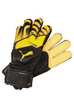 Puma - ONE PROTECT - Torwarthandschuh - ultra yellow/black/white