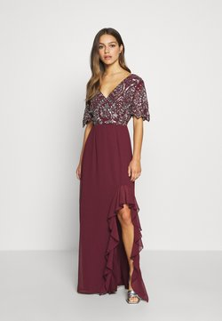 Lace & Beads Petite - JANI  - Ballkleid - burgundy