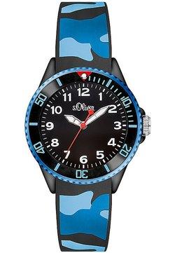 s.Oliver - Uhr - blau/schwarz