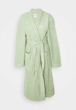 TOM TAILOR - KIMONO BATHROBE - Dressing gown - eucalyptus