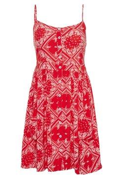 Superdry - AMELIE CAMI DRESS - Freizeitkleid - red