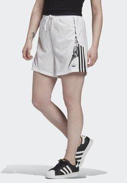 adidas Originals - SHORTS - Shorts - white