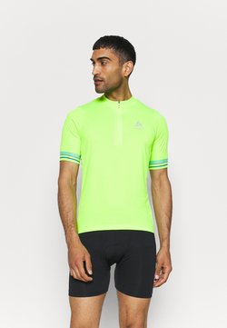 ODLO - STAND UP COLLAR ZIP ESSENTIAL - T-shirt med print - lounge lizard