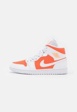 Jordan - AIR JORDAN 1 MID SE - Höga sneakers - bright citrus/white