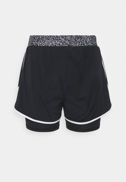 ONLY Play - ONPJUDIEA TRAIN SHORTS CURVY - Pantalón corto de deporte - black