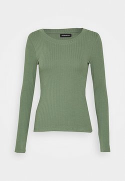 Even&Odd - Langarmshirt - green