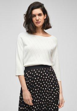 s.Oliver BLACK LABEL - Sweatshirt - soft white