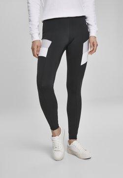 Urban Classics Curvy - Leggings - Hosen - black/grey
