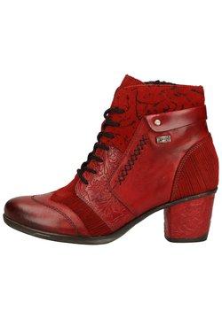 Remonte - Ankle Boot - mohn/schwarz / 35