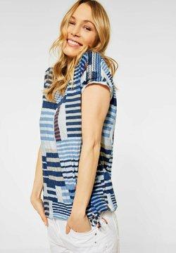 Cecil - T-Shirt print - blau