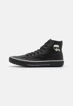 KARL LAGERFELD - KAMPUS II KARL 3D IKON - Sneaker high - black