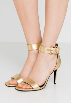 Versace Jeans Couture - Sandalen met hoge hak - oro