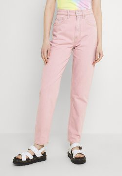 Tommy Jeans - MOM ULTRA - Relaxed fit -farkut - pink daisy