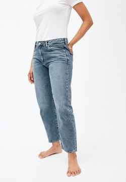 ARMEDANGELS - FJELLAA CROPPED - Jeans Straight Leg - light vintage