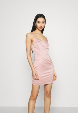 Missguided - CAMI BODYCON MINI DRESS - Cocktailkleid/festliches Kleid - pink