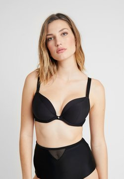Curvy Kate - SUPER PLUNGE MULTIWAY PADDED BRA MICROFIBRE - Underwired bra - black