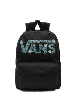 Vans - MN VANS X SPONGEBOB OLD SKOOL IIII BACKPACK - Reppu - black/waterfall