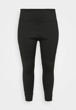 Puma - STUDIO HIGH WAIST 7/8 PLUS SIZE - Tights - black
