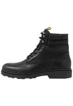 Tommy Jeans - CASUAL BOOT - Schnürstiefelette - black