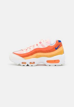 Nike Sportswear - AIR MAX 95 - Sneakers laag - campfire orange/racer blue/sail/laser orange/citron pulse/peach cream