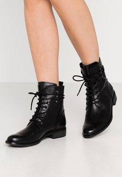 Marco Tozzi - BOOTS - Bottines à lacets - black antic
