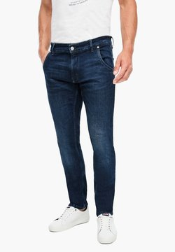 Q/S designed by - Jeans Tapered Fit - dark blue