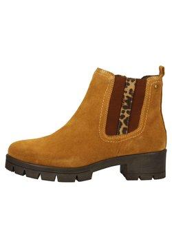 Jana - Ankle Boot - saffron suede